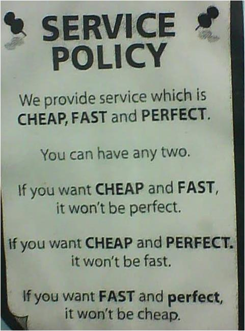 Service Policy